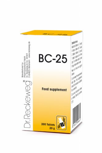 Schuessler BC25 combination cell salt - tissue salt